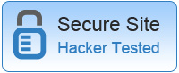 Secure Site Hacker Tested